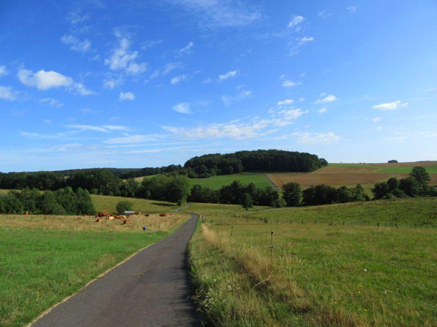 Landschaft bei der Hennefer RTF